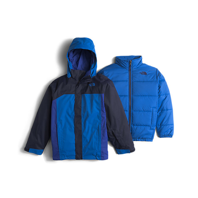 CHEAP NORTH FACE BOYS' BOUNDARY TRICLIMATE JACKET COSMIC BLUE ONLINE