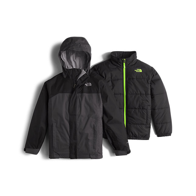 CHEAP NORTH FACE BOYS' BOUNDARY TRICLIMATE JACKET BLACK ONLINE
