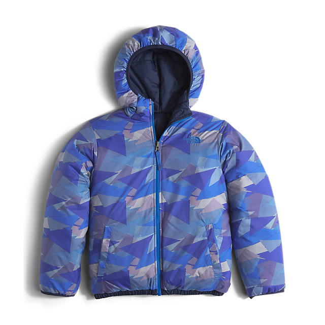 CHEAP NORTH FACE BOYS\' REVERSIBLE PERRITO JACKET COSMIC BLUE ONLINE
