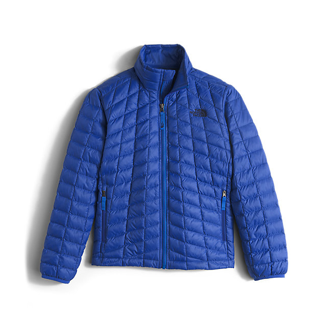 CHEAP NORTH FACE BOYS' THERMOBALL FULL-ZIP JACKET HONOR BLUE ONLINE