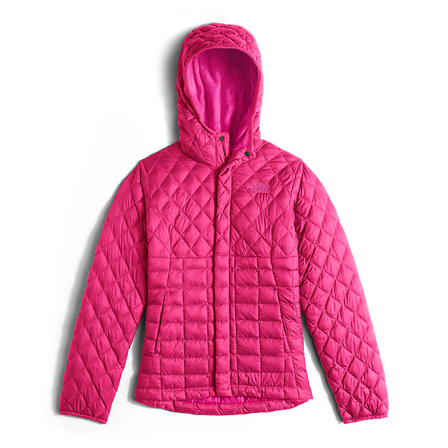 CHEAP NORTH FACE GIRLS' LEXI THERMOBALL HOODIE CERISE PINK ONLINE