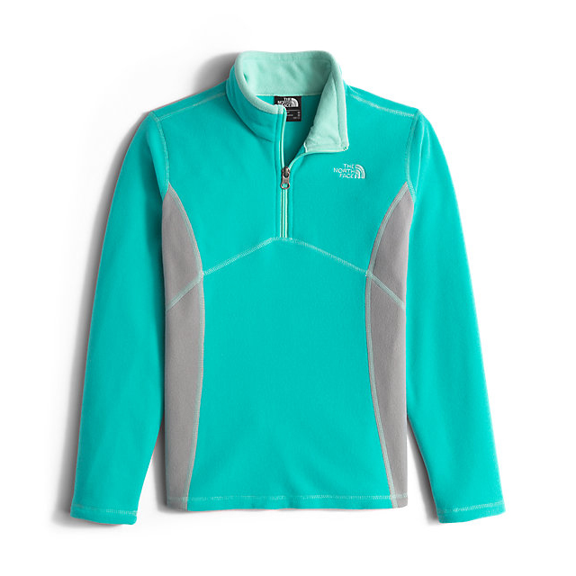 CHEAP NORTH FACE GIRLS' GLACIER 1/4 ZIP ION BLUE ONLINE