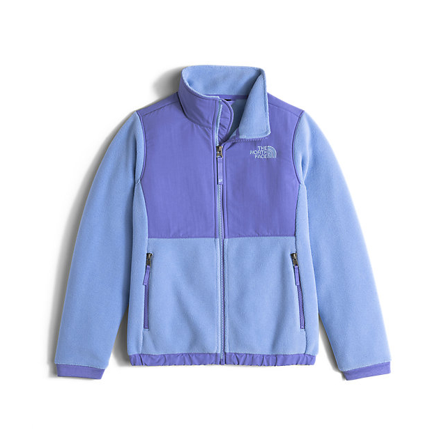 CHEAP NORTH FACE GIRLS' DENALI JACKET GRAPEMIST BLUE ONLINE