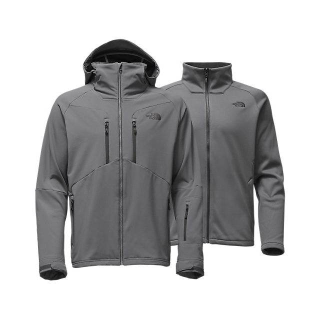 CHEAP NORTH FACE MEN'S APEX STORM PEAK TRICLIMATE JACKET ZINC GREY ONLINE