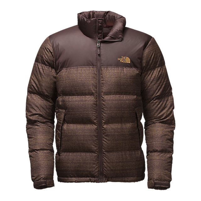 CHEAP NORTH FACE MEN'S NUPTSE JACKET COFFEE BEAN BROWN TWITCH PRINT/COFFEE BEAN BROWN ONLINE
