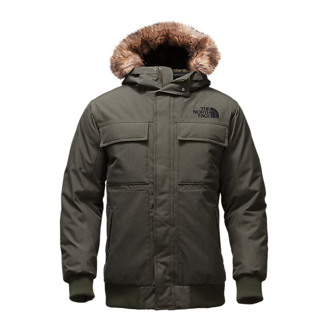 CHEAP NORTH FACE MEN'S GOTHAM JACKET II CLIMBING IVY GREEN HEATHER ONLINE
