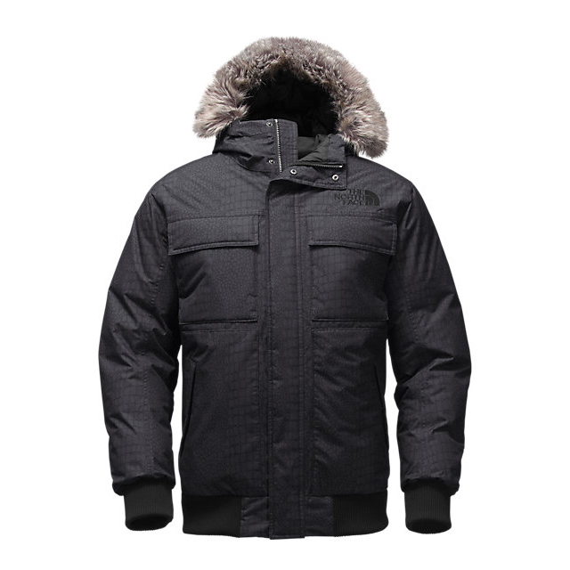 CHEAP NORTH FACE MEN'S GOTHAM JACKET II BLACK CROC EMBOSS ONLINE