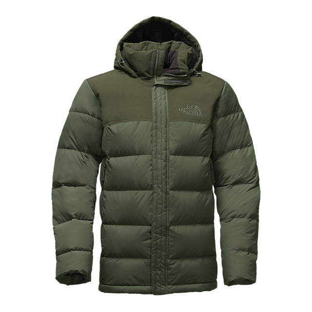 CHEAP NORTH FACE MEN'S NUPTSE RIDGE PARKA CLIMBING IVY GREEN/ROSIN GREEN ONLINE
