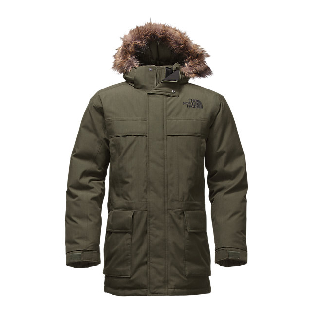CHEAP NORTH FACE MEN'S MCMURDO PARKA II ROSIN GREEN HEATHER ONLINE