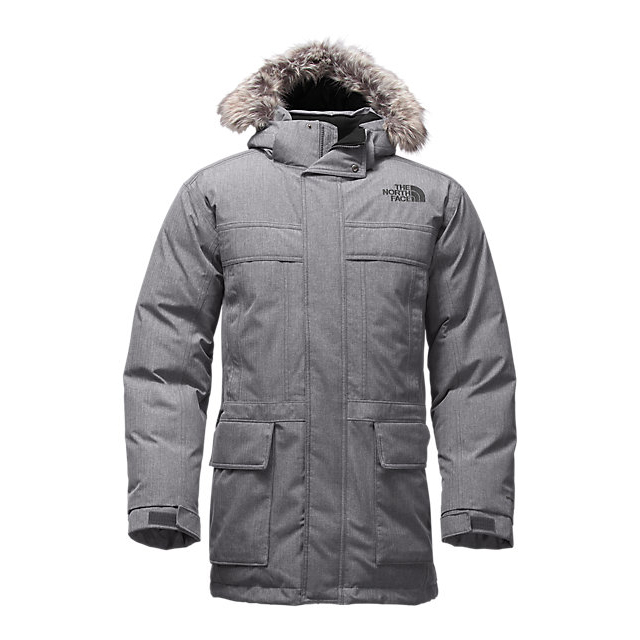 CHEAP NORTH FACE MEN'S MCMURDO PARKA II MEDIUM GREY HEATHER ONLINE