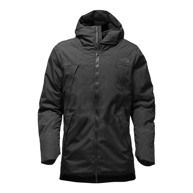 CHEAP NORTH FACE MEN'S FAR NORTHERN WATERPROOF PARKA BLACK HEATHER ONLINE