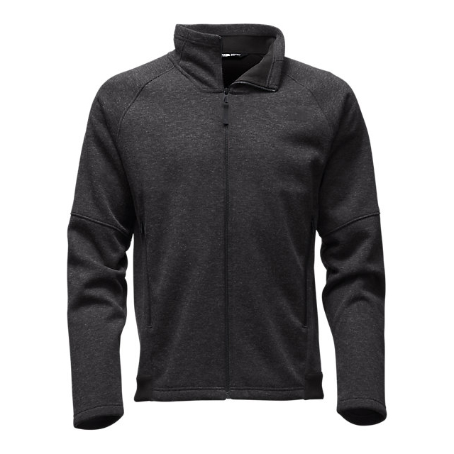 CHEAP NORTH FACE MEN'S FAR NORTHERN FULL ZIP BLACK HEATHER / BLACK HEATHER ONLINE