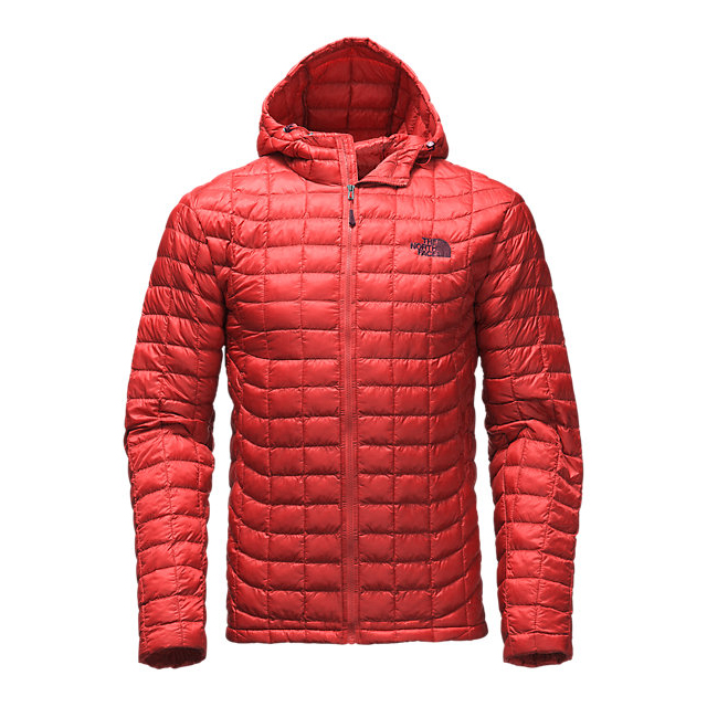 CHEAP NORTH FACE MEN'S THERMOBALL HOODIE CARDINAL RED ONLINE