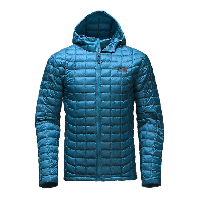 CHEAP NORTH FACE MEN'S THERMOBALL HOODIE BANFF BLUE ONLINE