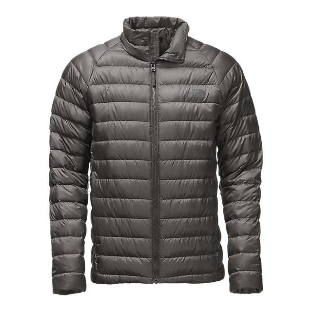 CHEAP NORTH FACE MEN'S TREVAIL JACKET FUSEBOX GREY ONLINE