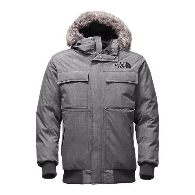 CHEAP NORTH FACE MEN'S GOTHAM JACKET II MEDIUM GREY HEATHER ONLINE