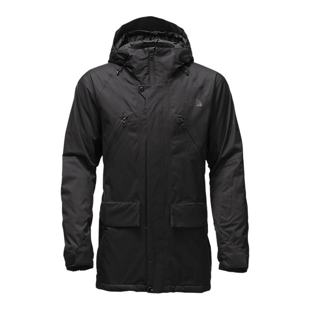 CHEAP NORTH FACE MEN'S SHERMAN INSULATED JACKET BLACK WAX ONLINE