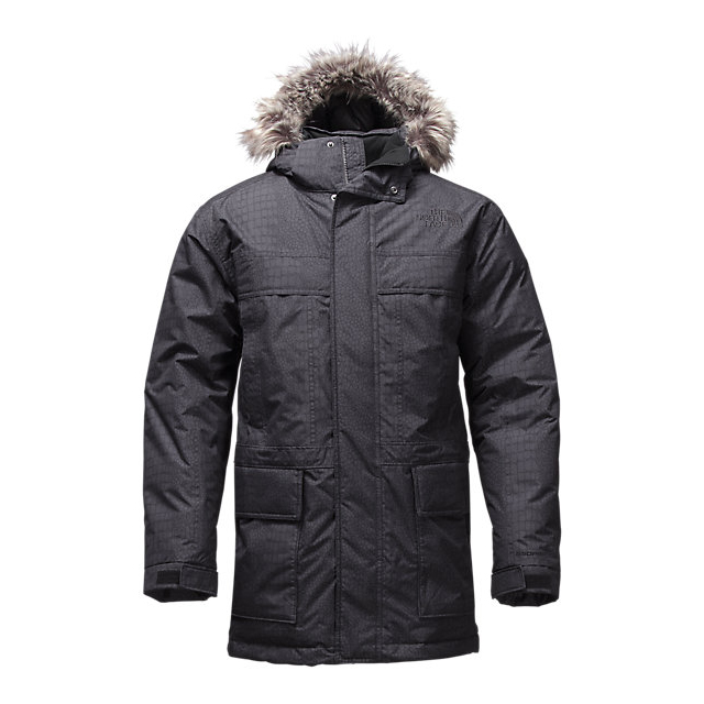 CHEAP NORTH FACE MEN'S MCMURDO PARKA II BLACK CROC EMBOSS ONLINE