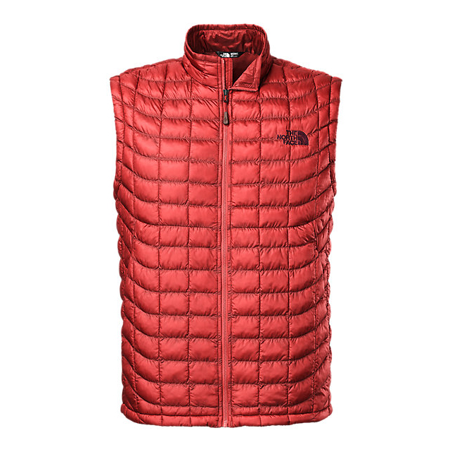 CHEAP NORTH FACE MEN'S THERMOBALL VEST CARDINAL RED ONLINE