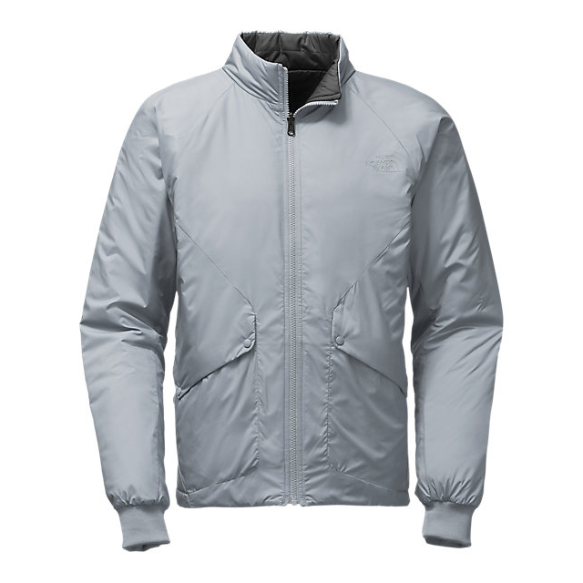 CHEAP NORTH FACE MEN'S BRAGDON REVERSIBLE JACKET MID GREY/ASPHALT GREY ONLINE