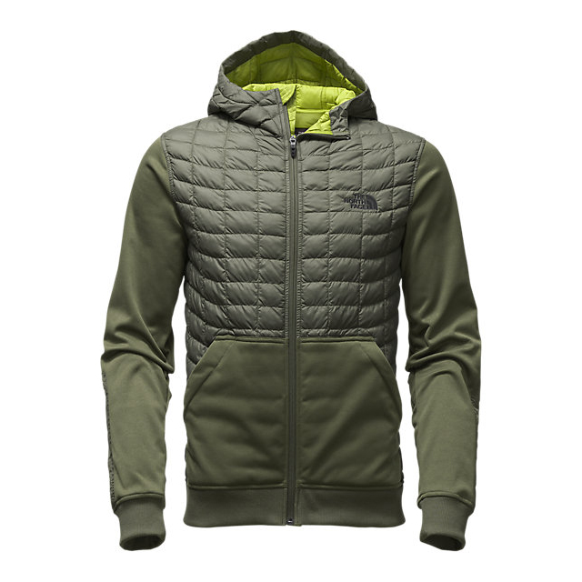 CHEAP NORTH FACE MEN'S KILOWATT THERMOBALL JACKET CLIMBING IVY GREEN ONLINE