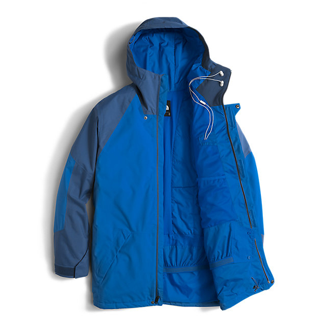 CHEAP NORTH FACE MEN\'S ACHILLES JACKET BOMBER BLUE/SHADY BLUE ONLINE