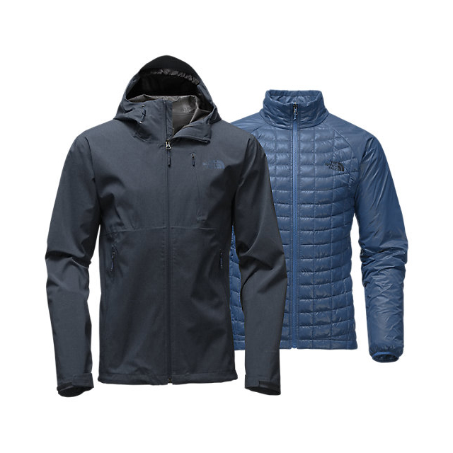 CHEAP NORTH FACE MEN'S THERMOBALL TRICLIMATE JACKET URBAN NAVY HEATHER ONLINE