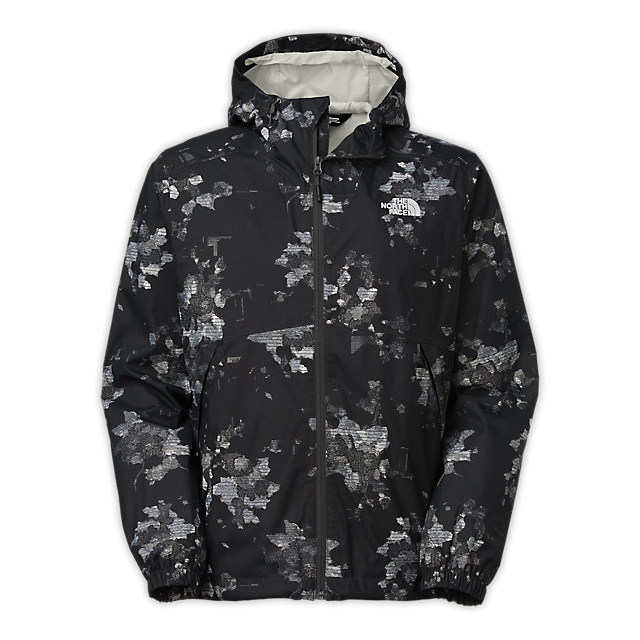 CHEAP NORTH FACE MEN\'S MILLERTON JACKET ASPHALT GREY FLORAL CAMO PRINT ONLINE