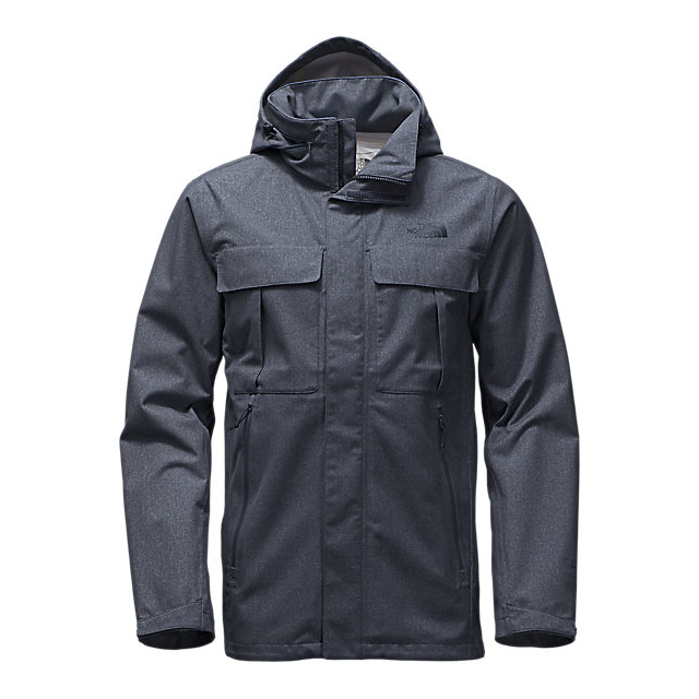 CHEAP NORTH FACE MEN'S KASSLER FIELD JACKET URBAN NAVY HEATHER ONLINE