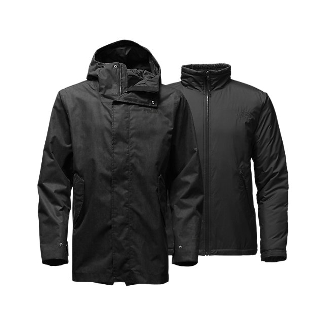 CHEAP NORTH FACE MEN'S ELMHURST TRICLIMATE JACKET BLACK ONLINE