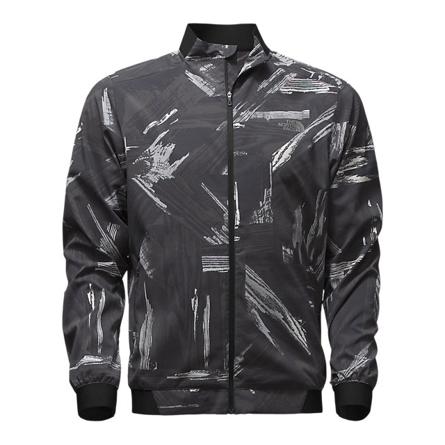 CHEAP NORTH FACE MEN'S RAPIDO MODA JACKET BLACK REFLECTIVE ONLINE