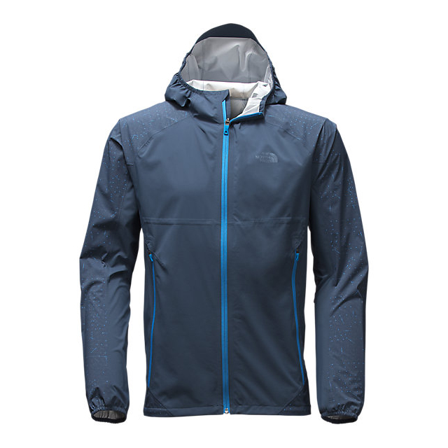 CHEAP NORTH FACE MEN'S STORMY TRAIL JACKET SHADY BLUE ONLINE