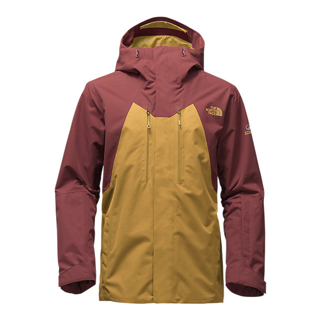 CHEAP NORTH FACE MEN'S NFZ JACKET BRONZE MIST-HOT CHOCOLATE BROWN ONLINE