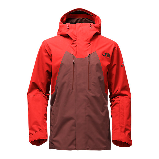 CHEAP NORTH FACE MEN'S NFZ JACKET HOT CHOCOLATE BROWN-FIERY RED ONLINE