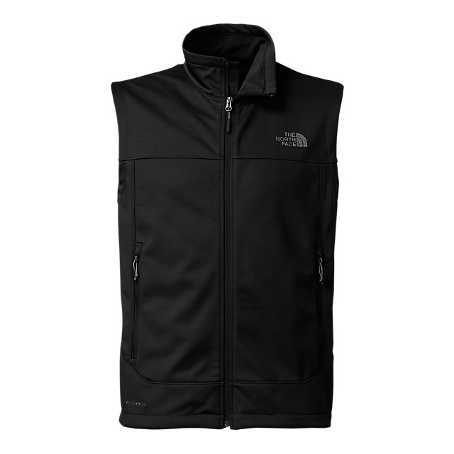 CHEAP NORTH FACE MEN\'S CANYONWALL VEST BLACK ONLINE