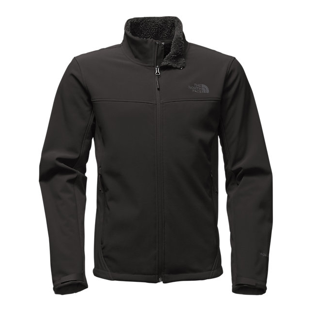 CHEAP NORTH FACE MEN'S APEX CHROMIUM THERMAL JACKET BLACK / BLACK ONLINE