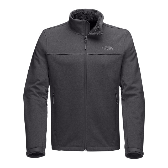 CHEAP NORTH FACE MEN'S APEX CHROMIUM THERMAL JACKET ASPHALT GREY TWITCH EMBOSS ONLINE