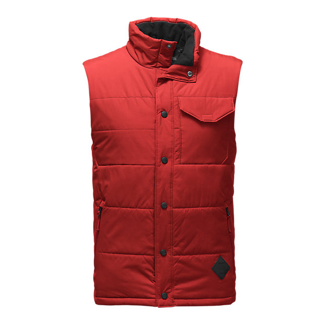 CHEAP NORTH FACE MEN\'S PATRICKS POINT VEST CARDINAL RED ONLINE
