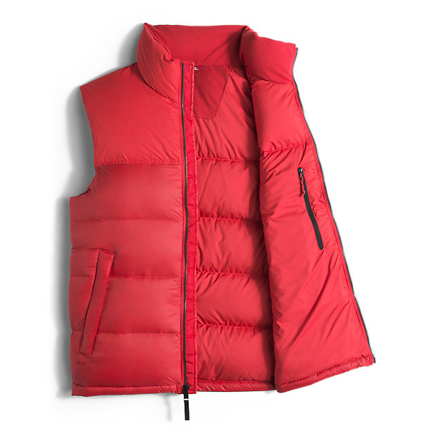 CHEAP NORTH FACE MEN\'S NUPTSE SPECIAL EDITION VEST RED/RED CROC EMBOSS ONLINE