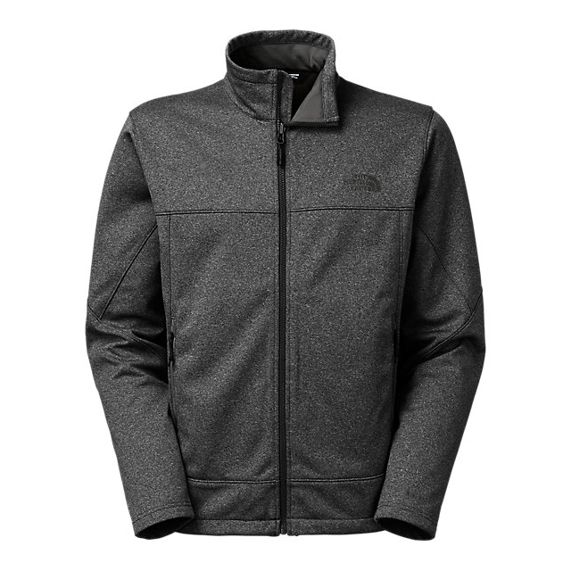 CHEAP NORTH FACE MEN'S CANYONWALL JACKET DARK GREY HEATHER/DARK GREY HEATHER ONLINE