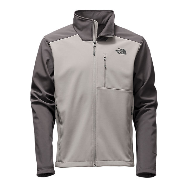 CHEAP NORTH FACE MEN'S APEX BIONIC 2 JACKET - UPDATED DESIGN MOON MIST GREY/ASPHALT GREY ONLINE