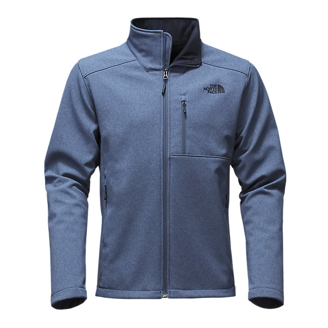 CHEAP NORTH FACE MEN'S APEX BIONIC 2 JACKET - UPDATED DESIGN SHADY BLUE HEATHER/SHADY BLUE HEATHER ONLINE