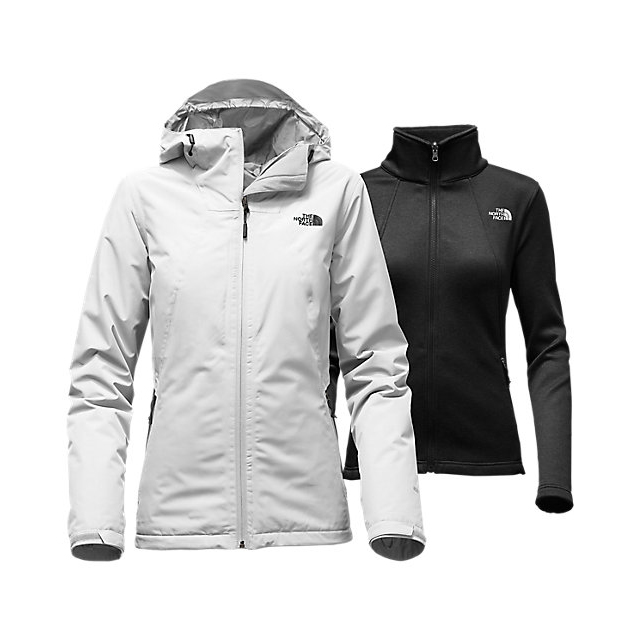 CHEAP NORTH FACE WOMEN'S HIGHANDDRY TRICLIMATE  JACKET LUNAR ICE GREY/BLACK ONLINE