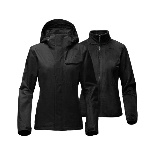CHEAP NORTH FACE WOMEN'S HELATA TRICLIMATE  JACKET BLACK ONLINE