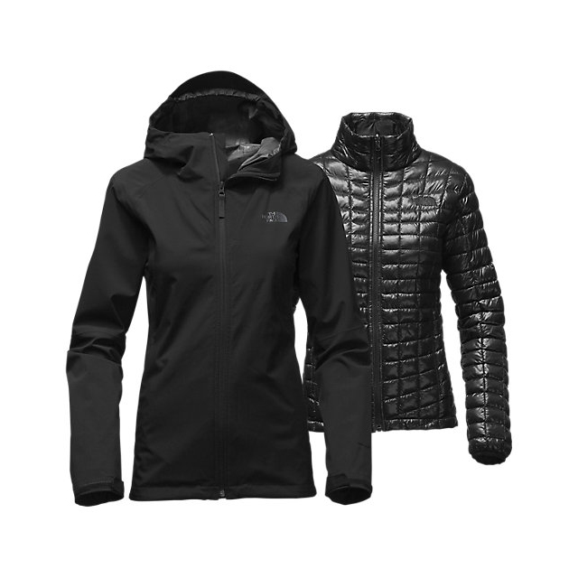 CHEAP NORTH FACE WOMEN'S THERMOBALL  TRICLIMATE  JACKET BLACK ONLINE