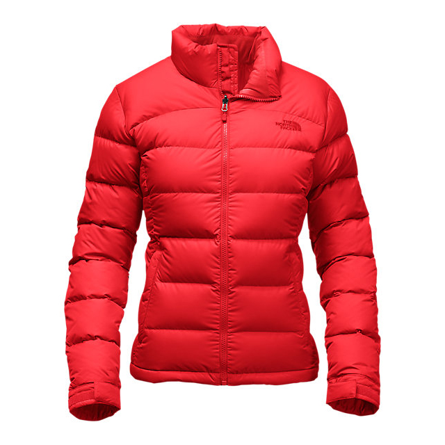 CHEAP NORTH FACE WOMEN'S NUPTSE 2 JACKET HIGH RISK RED ONLINE