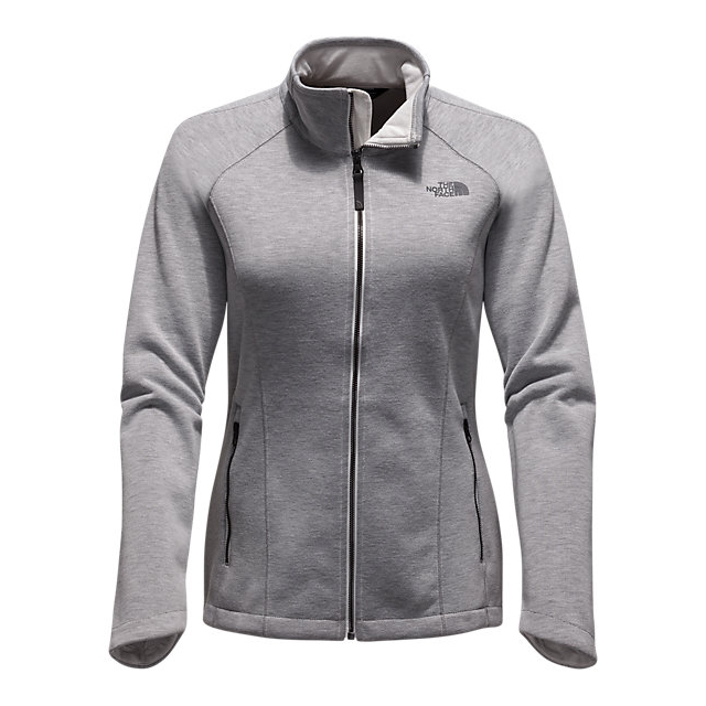CHEAP NORTH FACE WOMEN'S FAR NORTHERN FULL ZIP VAPOROUS GREY HEATHER ONLINE