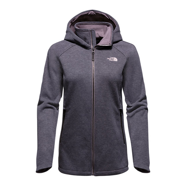 CHEAP NORTH FACE WOMEN'S FAR NORTHERN HOODIE RABBIT GREY HEATHER ONLINE