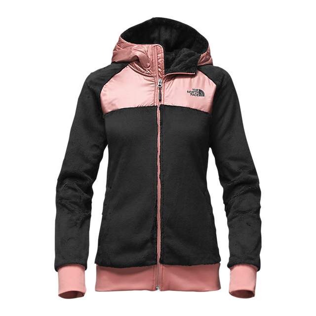 CHEAP NORTH FACE WOMEN'S OSO HOODIE BLACK/ROSE DAWN ONLINE