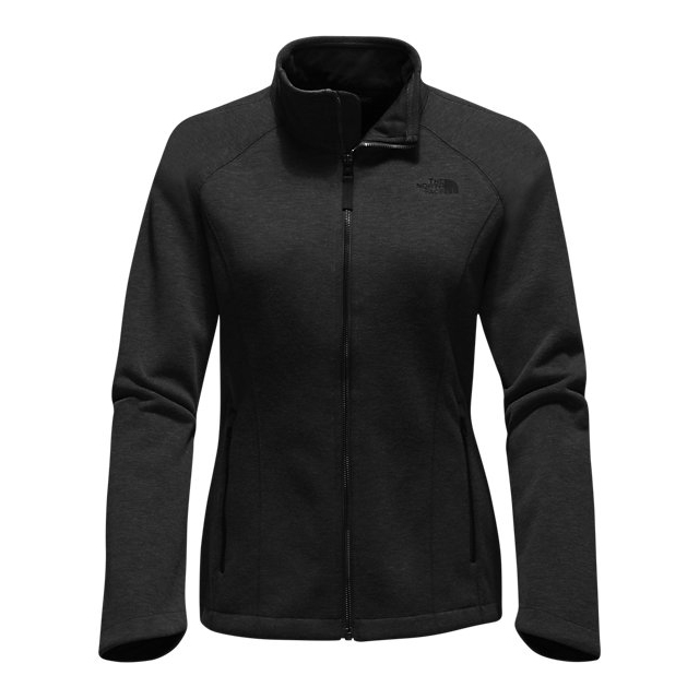 CHEAP NORTH FACE WOMEN'S FAR NORTHERN FULL ZIP BLACK HEATHER ONLINE
